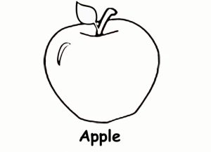 Online Apple Coloring Pages   gkhlz