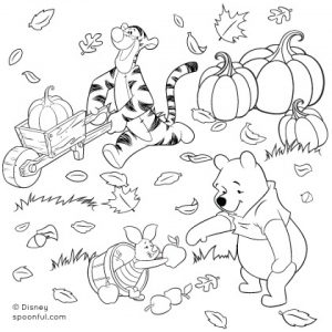 Online Autumn Coloring Pages   78742