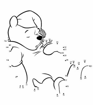 Online Connect the Dots Coloring Pages   10437