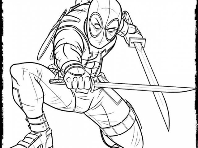 Get This Deadpool Coloring Pages Free Printable 107432: Get This Online Deadpool Coloring Pages 476857