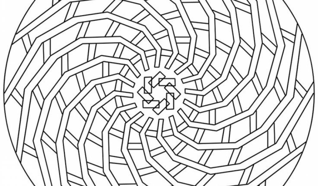 Get this online geometric coloring pages 79597 for Geometric coloring pages online