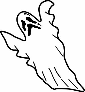 Online Ghost Coloring Pages   61800