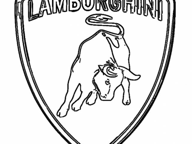 Online Lamborghini Coloring Pages With Page