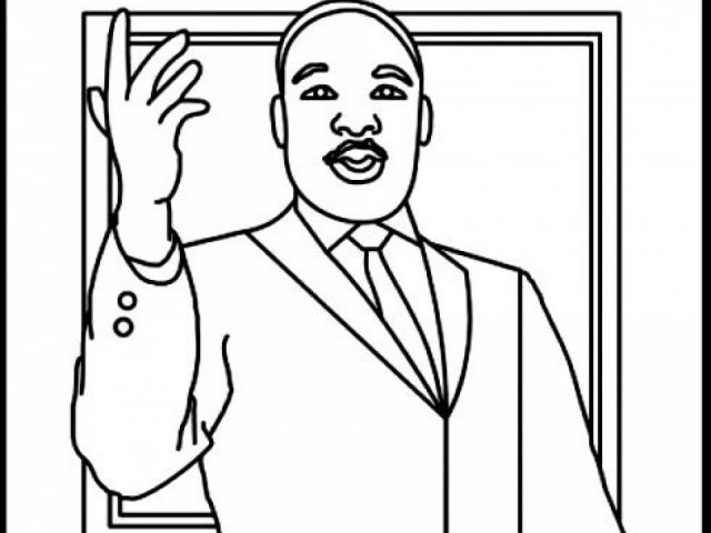 online martin luther king jr coloring pages to print swsyq