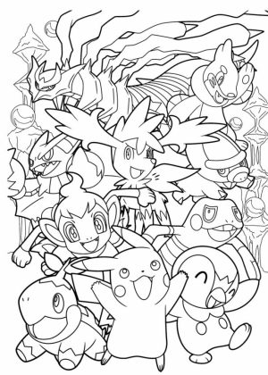 Online Pokemon Coloring Page   11674