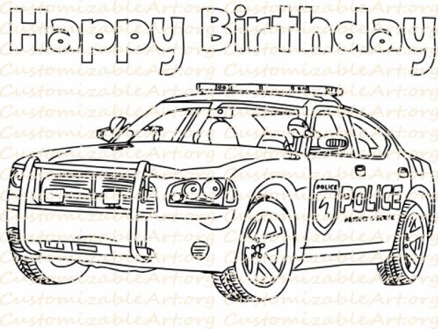 online police car coloring pages 50959 - Police Car Coloring Pages