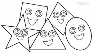 Online Printable Shapes Coloring Pages   rczoz