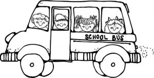 Online School Bus Coloring Pages   a9m0j