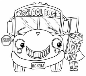 Online School Bus Coloring Pages   gkhlz