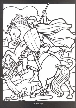 Online Stained Glass Coloring Pages   88361