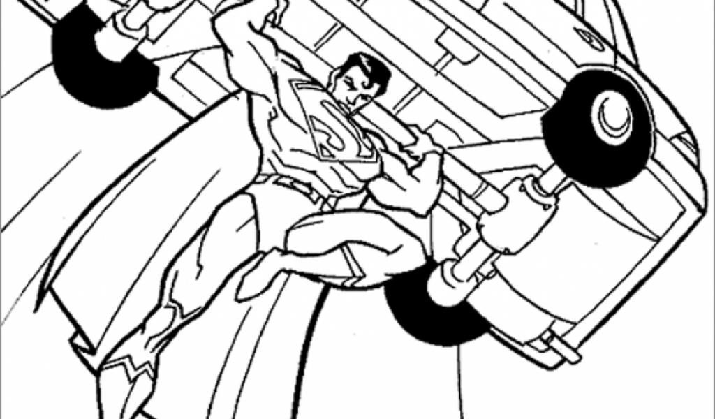 Get This Online Superman Coloring Pages 81476