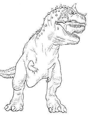 Online T Rex Coloring Pages   60096