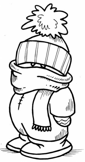Online Winter Coloring Pages   357853