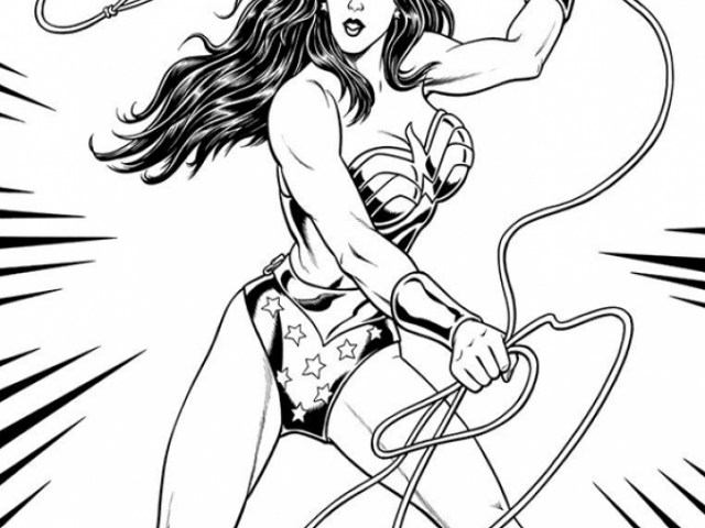 Get This Online Wonder Woman Coloring Pages Jzj9z