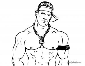 Online WWE Coloring Pages   40609