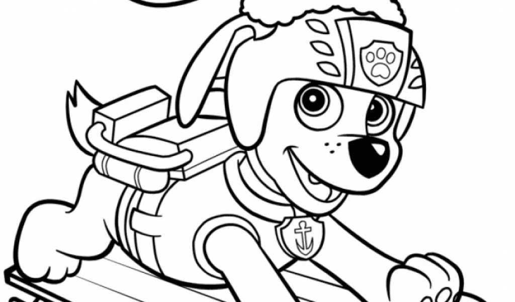 Get This Paw Patrol Coloring Pages For Kids 47692