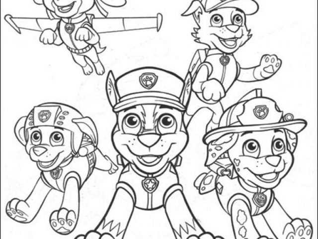Paw Patrol Ausmalbilder Malvorlagen In Free Printable Coloring Pages: Get This Paw Patrol Coloring Pages Free Printable 17359