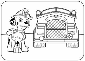 Paw Patrol Coloring Pages Online for Kids   12648