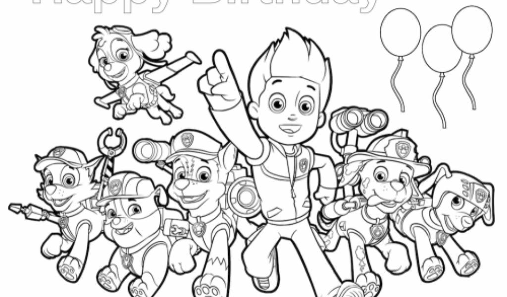 Get This Paw Patrol Coloring Pages Online For Kids 94627