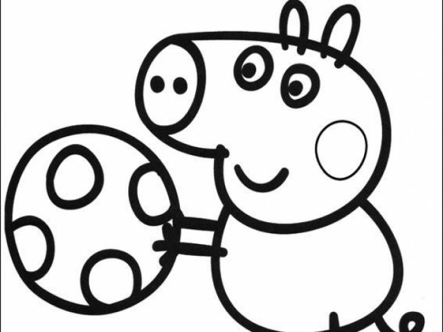 get this peppa pig coloring pages free printable 30787 ! - Peppa Pig Coloring Pages Print
