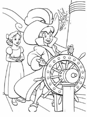 Peter Pan Coloring Pages Disney Printable   qhar0