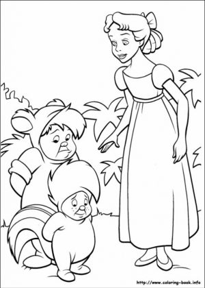 Peter Pan Coloring Pages Disney Printable   tcv41