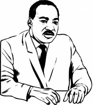 picture of martin luther king jr coloring pages free for children upmly - Martin Luther King Jr Coloring Pages