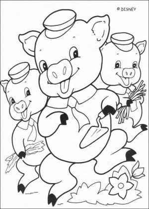 Pig Coloring Pages Printable   84n21