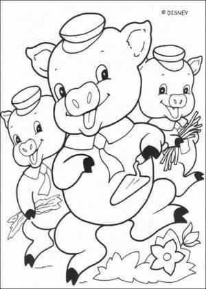 Pig Coloring Pages Printable   84n21