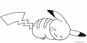 Pikachu Coloring Pages Printable   uagd4