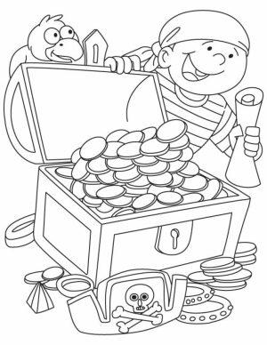 Pirate Coloring Pages for Kids   ya520