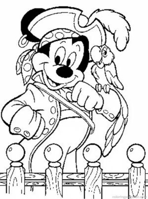 Pirate Coloring Pages Free   41882