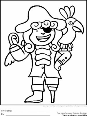 Pirate Coloring Pages Printable   cav25