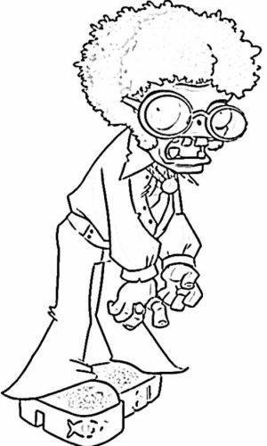Plants Vs. Zombies Coloring Pages to Print for Kids   67291