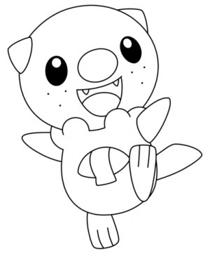 Pokemon Coloring Page Free Printable   27420