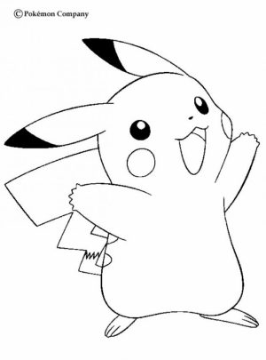 Pokemon Coloring Page Free Printable   4780