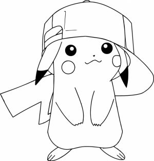 Pokemon Pikachu Coloring Pages   yt831