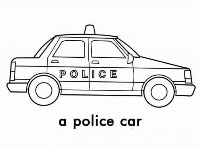 get this police car coloring pages free printable 76955. Black Bedroom Furniture Sets. Home Design Ideas