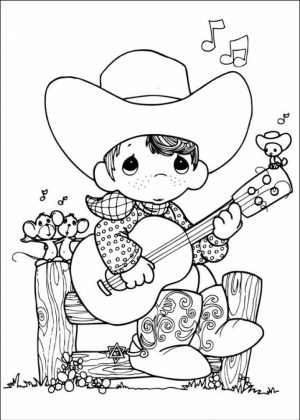 Precious Moments Coloring Pages for Kids   63718