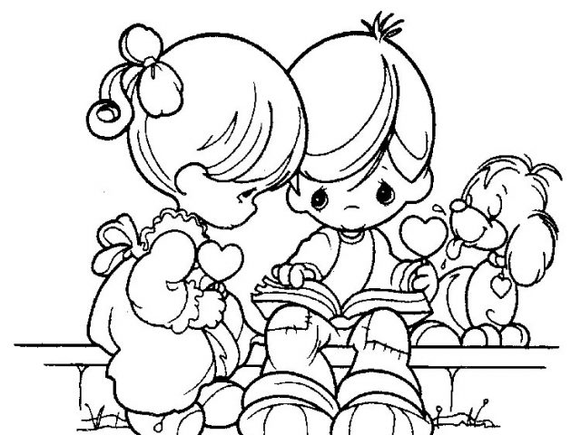 precious moments coloring pages to print for free 7sg2 - Precious Moments Coloring Pages