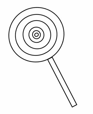 Preschool Candy Coloring Pages to Print   nob6i