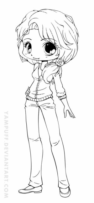 Preschool Chibi Coloring Pages to Print   4ABJZ