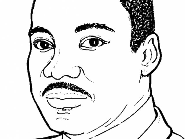 Cool Preschool Martin Luther King Jr Coloring Pages To Print Nobi With
