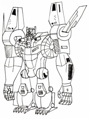 Preschool Printables of Optimus Prime Coloring Page Free   b3hca