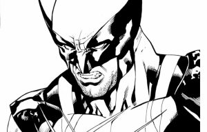Preschool Printables of Wolverine Coloring Pages Free   jIk30