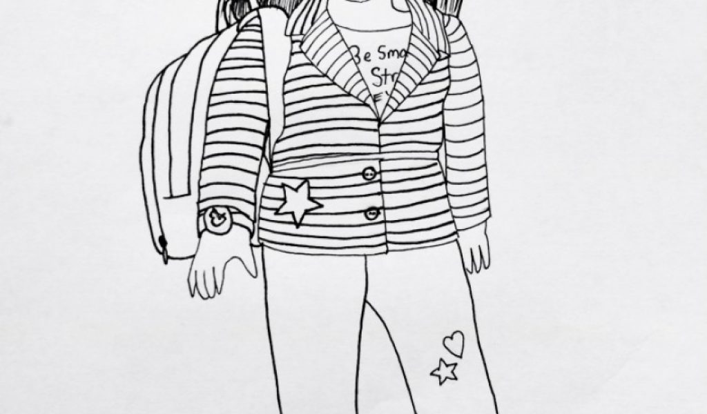 Best American Girl Coloring Pages Contemporary Coloring Page