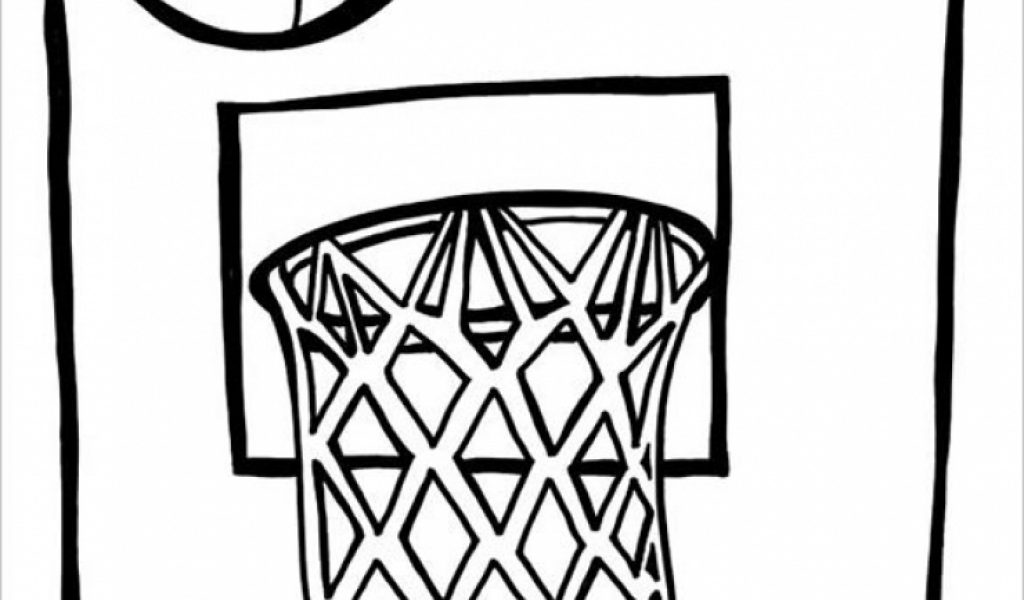Get This Printable Basketball Coloring Pages Online 387833