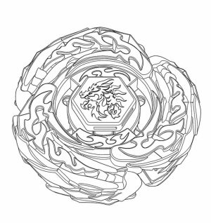 Printable Beyblade Coloring Pages   42472