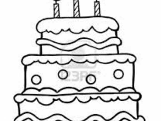 Get This Printable Birthday Cake Coloring Pages 73400