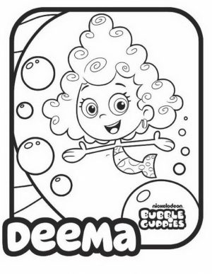 Printable Bubble Guppies Coloring Pages   673355